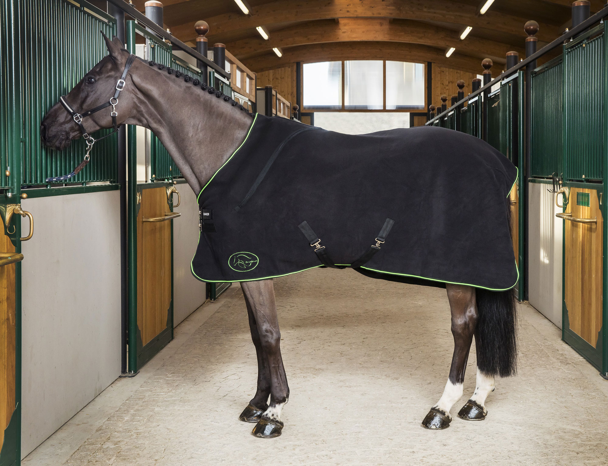 Couverture Double Polaire Thérapeutique Pro-Confort Horsewear Therapeutic double fleece blanket