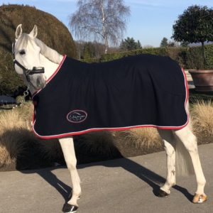 Couverture séchante Pro-Confort Horsewear High quality single fleece blanket with removable straps